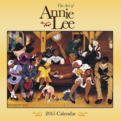 Shades of Color 2015 The Art of Annie Lee African American Calendar, 12 by 12 Inches (15AL) ()