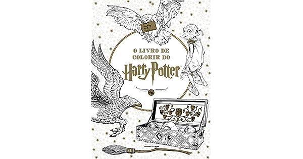 O Livro De Colorir Do Harry Potter 9788579309564 Livros Na