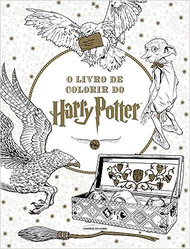 O Livro De Colorir Do Harry Potter Em Portuguese Do Brasil