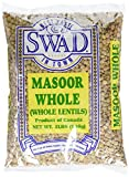 Great Bazaar Swad Masoor Whole Massor Dal, 2 Pound