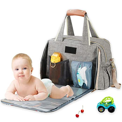 TFTREE Wickeltasche gro/ße wasserdichte Reisetasche f/ür Baby Umstandsmode Umh/ängetasche Isolierung Isolierung kann mit Kinderwagen Damen Rucksack verwendet werden