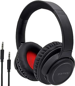 YAMAY Auriculares Bluetooth con Micrófono, Bluetooth 5.0 Audio ...