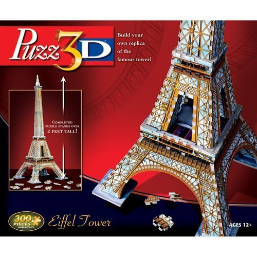 Puzz3D Eiffel Tower Puzzle 300 pieces by Winning Solutions