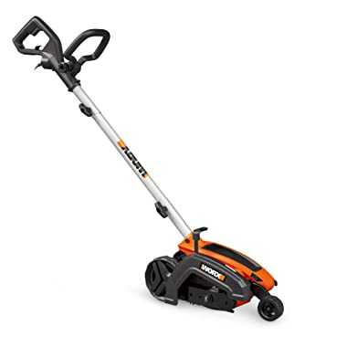 WORX WG896 12 Amp 7.5  Electric Lawn Edger & Trencher, 7.5in, Orange and Black