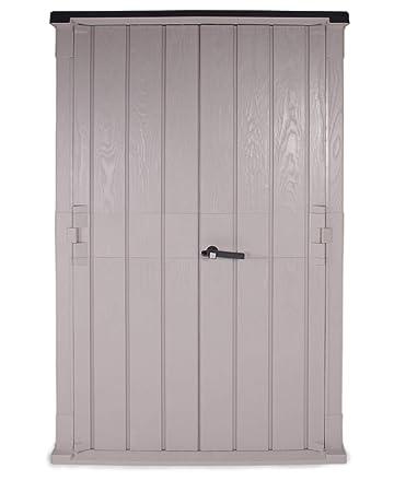 Ondis24 Mülltonnenbox Storer 842 L grau-anthrazit Aufbewahrungsbox abschließbar