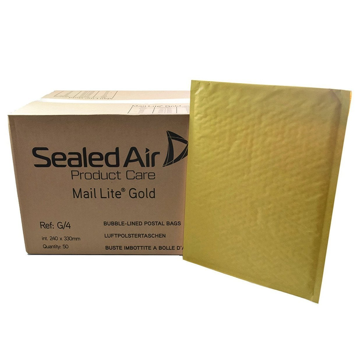 Buste bolle aria Aircap f.to int 24x33 cm (conf. 50 pz.) Sealed Air MLGG/4