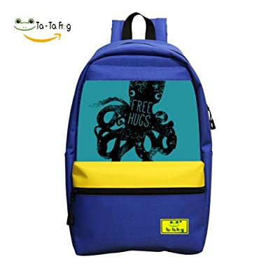 Free Hugs Student Backpack School Bag Cool Boys&Girls Super Bookbag Break