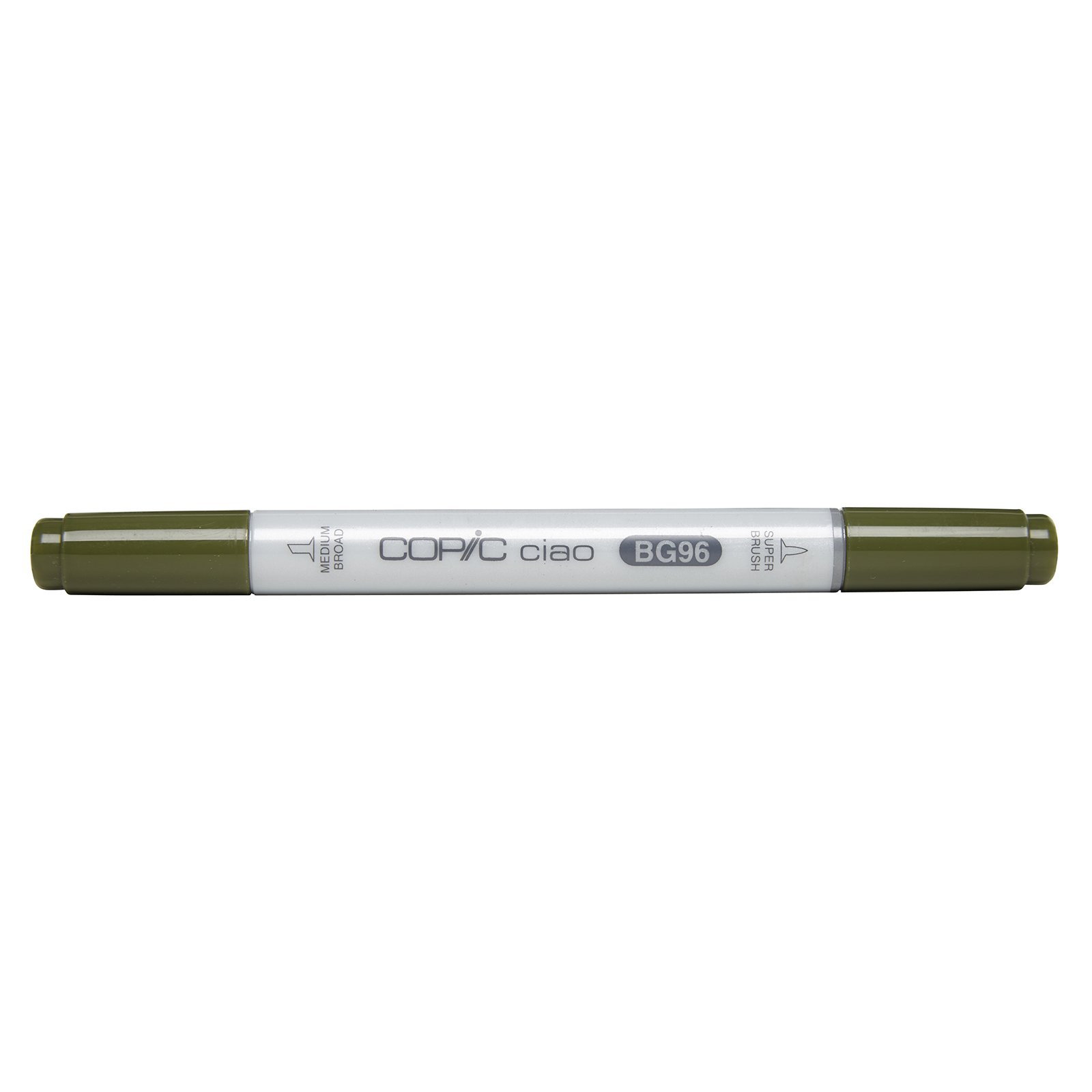 Copic Markers BG96 Ciao with Replaceable Nib, Bush