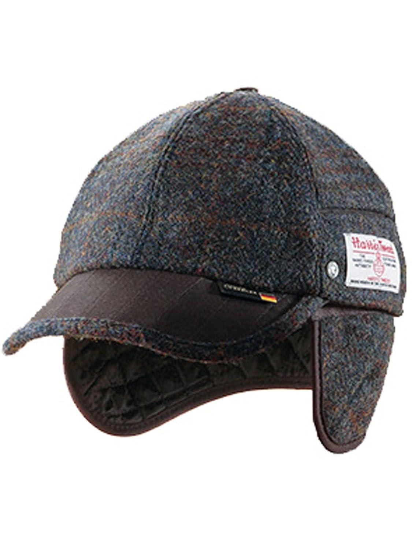 WEGENER。ハリスツイードを使用した大人のメンズのための帽子です。