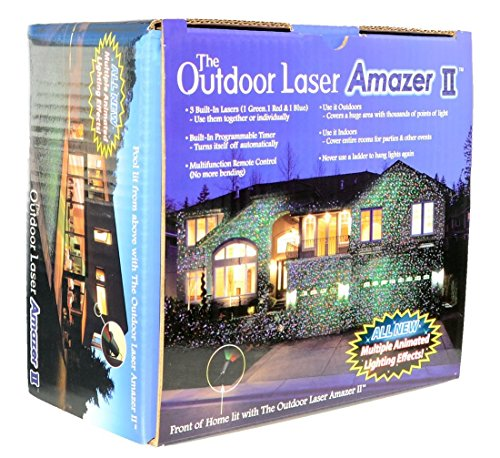 Outdoor Holiday Laser Light Projector in US - 8