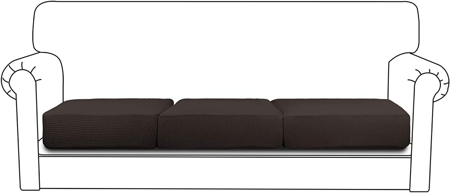 61zvUdeXEdL. AC SL1500 - Best Slipcovers For Leather Sofas and Couches (Non-Slip) - ChairPicks