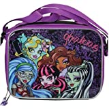 Monster High Lunch Bag with Strap - Ghoulicious