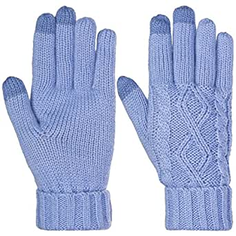 DG Hill Warm Texting Gloves For Women, Cable Knit