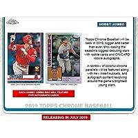 $244 » 2019 Topps Chrome Baseball Jumbo Box (12 Packs/13 Cards: 5 Autographs)