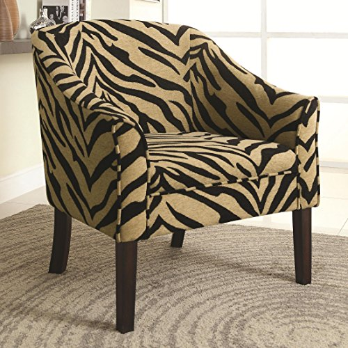 expresso accent chair - 6