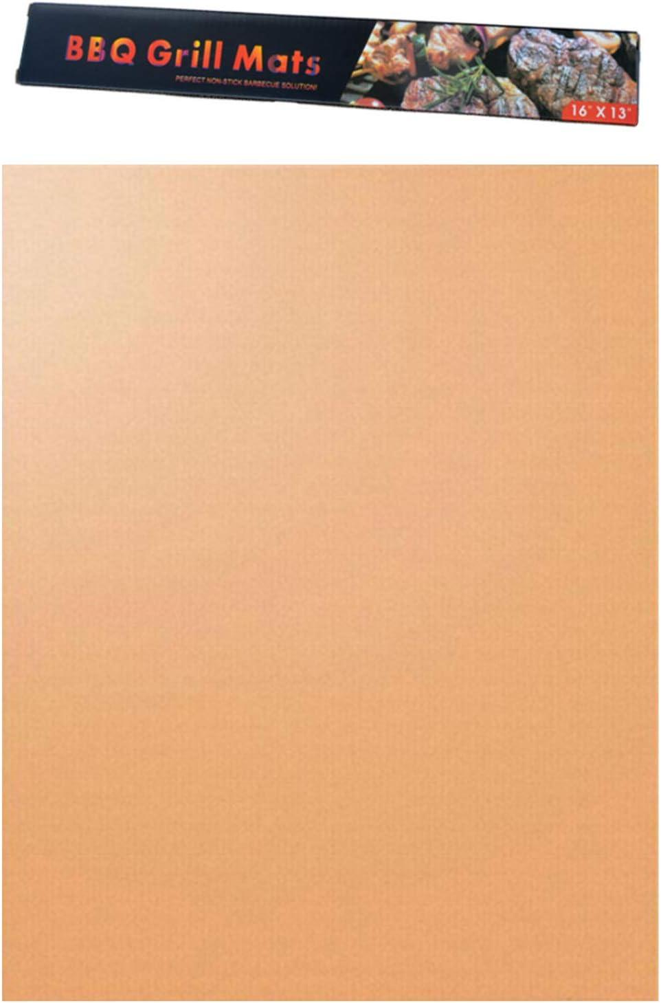 40 Gold 33 40 H-barbycue Wiederverwenbare BBQ Grillmatte 33