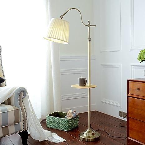 Lámpara la de Popa de de Lectura Dormitorio de pie lámpara kXZiTPuO