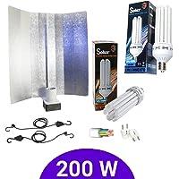 Kit de iluminación bajo consumo 200W CFL Solux