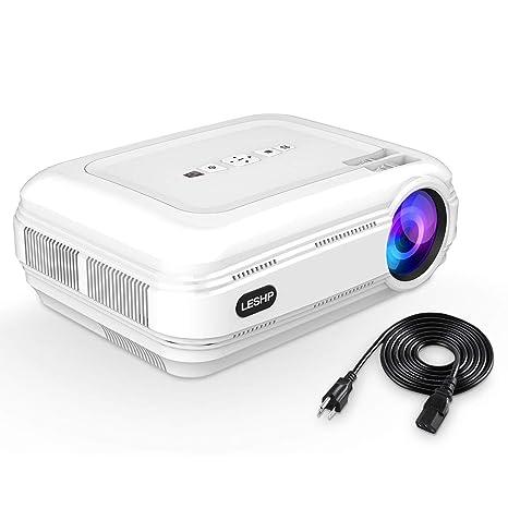 3200 lúmenes Full HD LCD proyector PROJECTOR blanco Weiß: Amazon ...