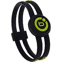 Bioflow Sport Twin Wristband Black/Lime (M 19.0cm)