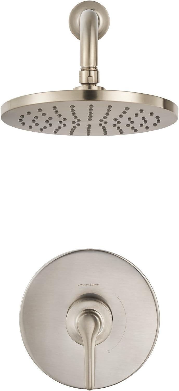 Brushed Nickel American Standard T105502.295 Urban Studio S PB Bath//Shower Trim