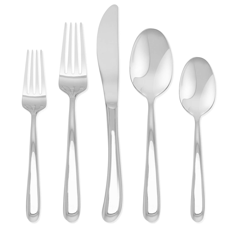 Hampton Signature – Slope – 20 Piece Flatware Set, Service for 4