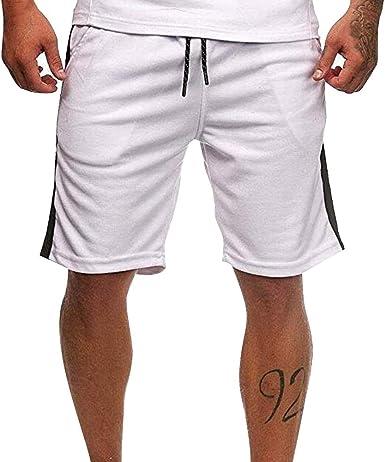 OEAK Short Sport Homme Court Respirant S/échage Rapide pour Jogging Entra/înement Gym Fitness Casual Basketball Football