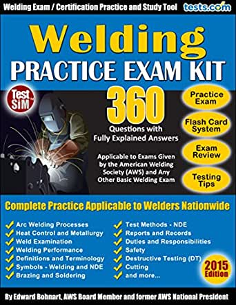 Amazon.Com: Welding Practice Exam - 360 Questions With Fully