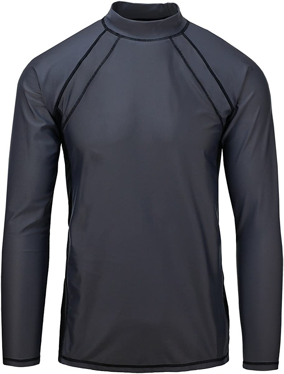 UV Skinz UPF 50+ Mens Long Sleeve Active Sun & Swim Shirt