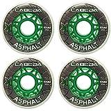 LABEDA WHEELS Inline Roller Hockey GRIPPER ASPHALT OUTDOOR WHITE (80)
