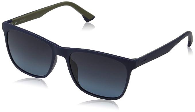 Police Sketch 1 Gafas de Sol, Azul (Matte Blue), 55.0 para ...