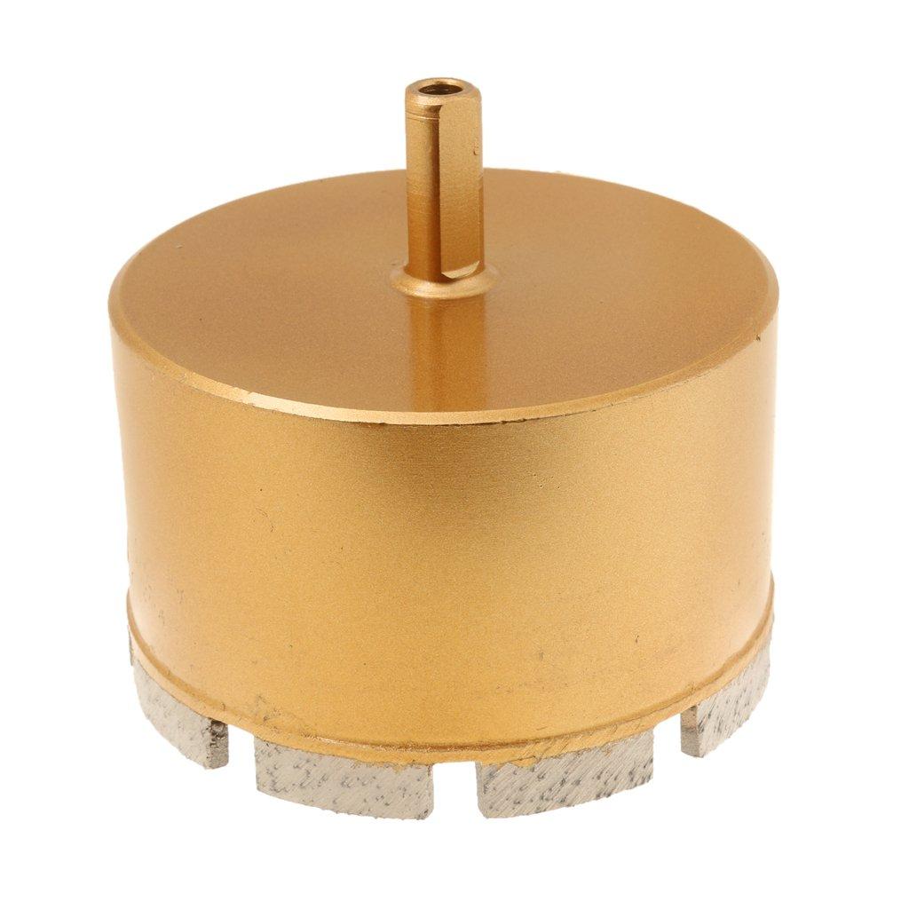 MagiDeal Foret Diamant/é Fraise M/èche Tr/épan pour C/éramique Verre Carrelage 6mm-100mm 16mm Or
