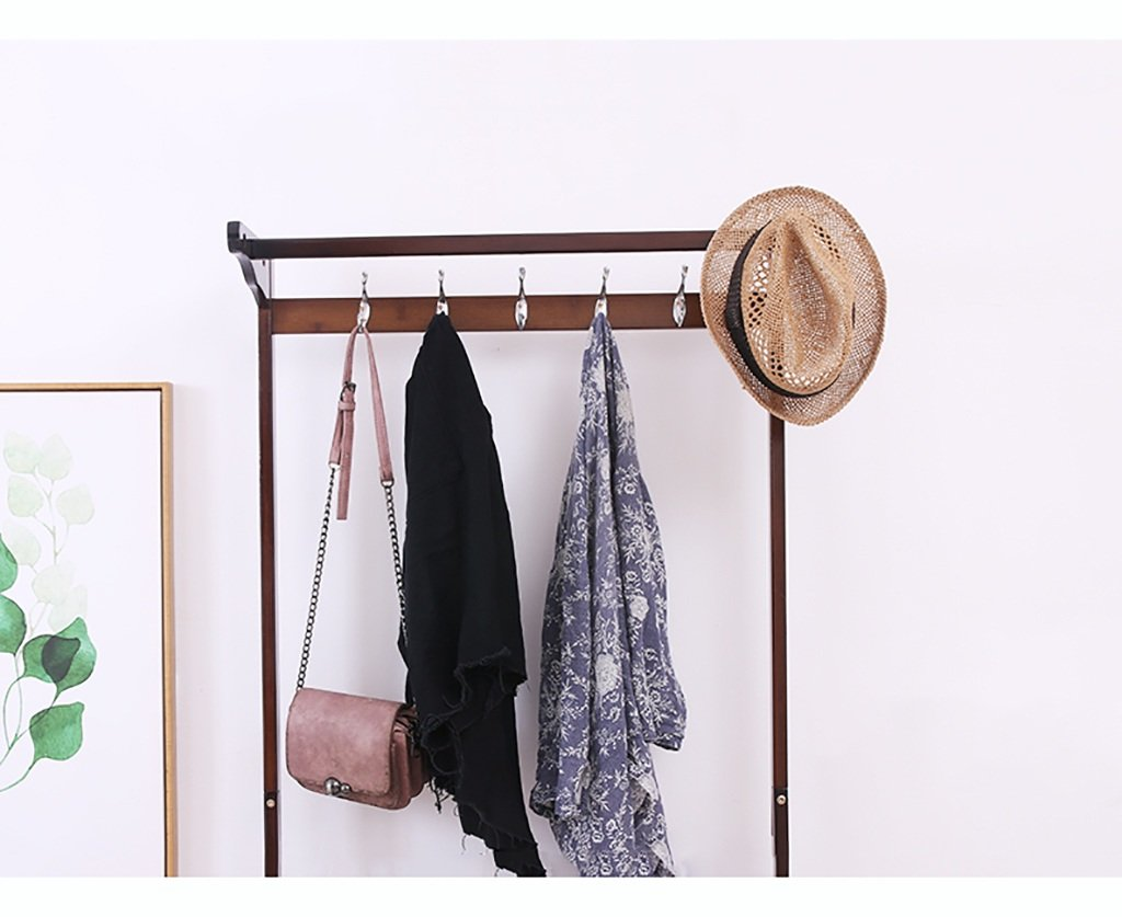 Amazon.com: XJRHB Coat Rack Bamboo Hanger Multi-Function ...