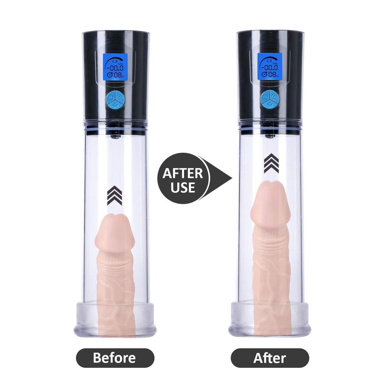 WJMMBD Men Automatic Vacuum Enlargement Pump Massage Cup Extender Male Enhancement Sleeve