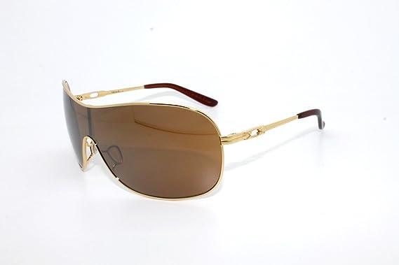 Oakley para mujer Reunidos OO4078 – 01 Iridio deporte gafas de sol