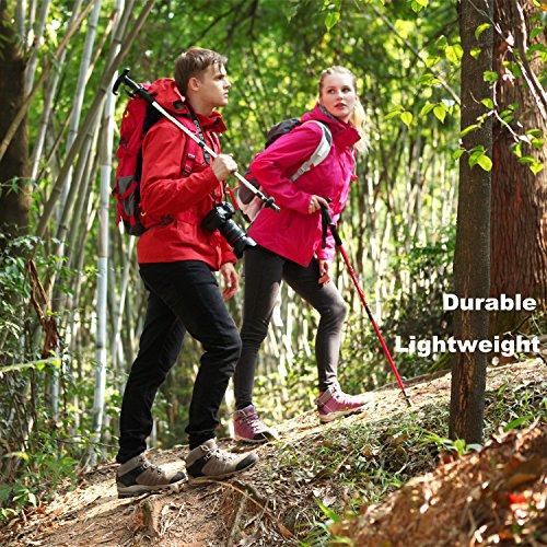 Waterproof HKM822 Leather Grey Backpacking Shoe Boot Women's Clorts Hiking Hiker Outdoor zwqSnEtx