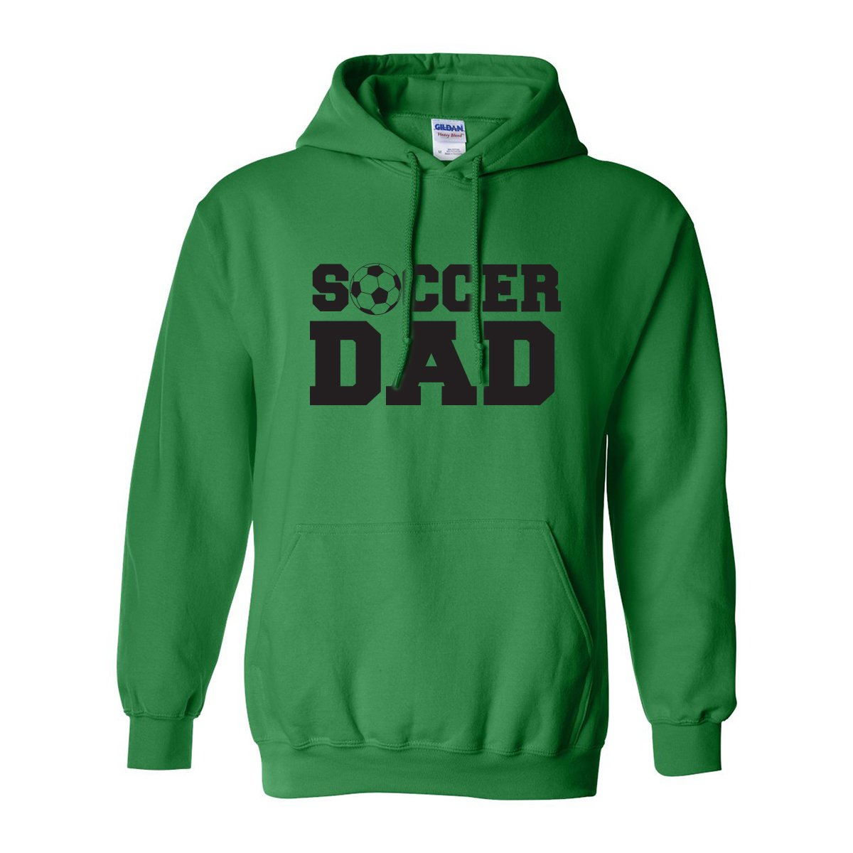 ZeroGravitee Soccer Dad Adult Hooded Sweatshirt in 9 colors PA-1908