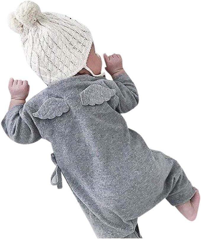Amazon.com: Kehen recién nacido Unisex de bebé niña Pelele ...