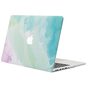 MOSISO Funda Dura Compatible MacBook Pro Retina 13 A1502 / A1425 (Non USB-C Versión 2015/2014/2013/fin 2012), Carcasa Rígida Protector de Patrón de ...