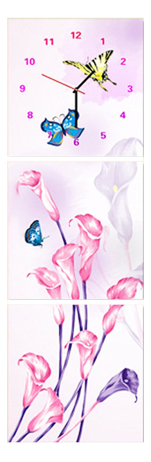 Cube diamond diamond embroidery painting diy5d Diamond Watch Videos butterfly triptych,240*80cm