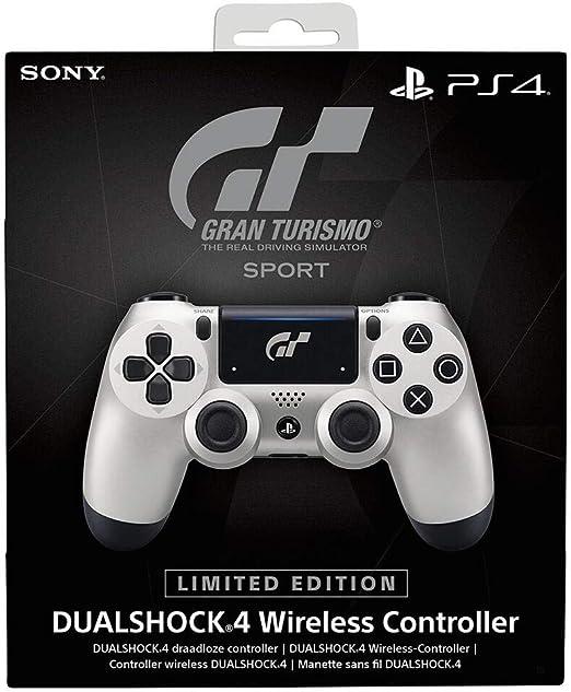 Sony DUALSHOCK 4 Limited Edition GT Sport Gamepad PlayStation 4 Negro, Plata - Volante/mando (Gamepad, PlayStation 4, Analógico/Digital, D-pad, Hogar, Share, Inalámbrico y alámbrico, Bluetooth): Amazon.es: Videojuegos