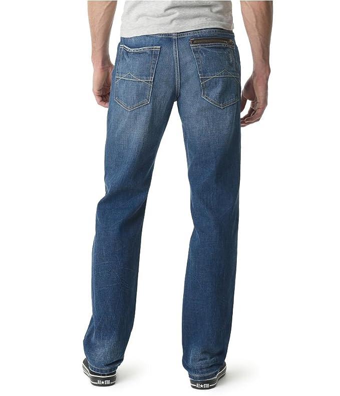 c504d924 Aeropostale Mens Essex Straight Leg Jeans Blue 27x28 at Amazon Men's  Clothing store: