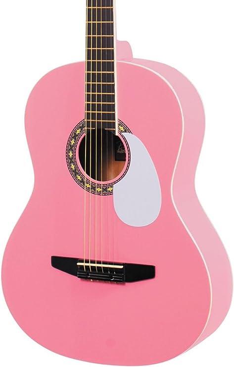 Rogue – Guitarra acústica, color rosa: Amazon.es: Instrumentos ...