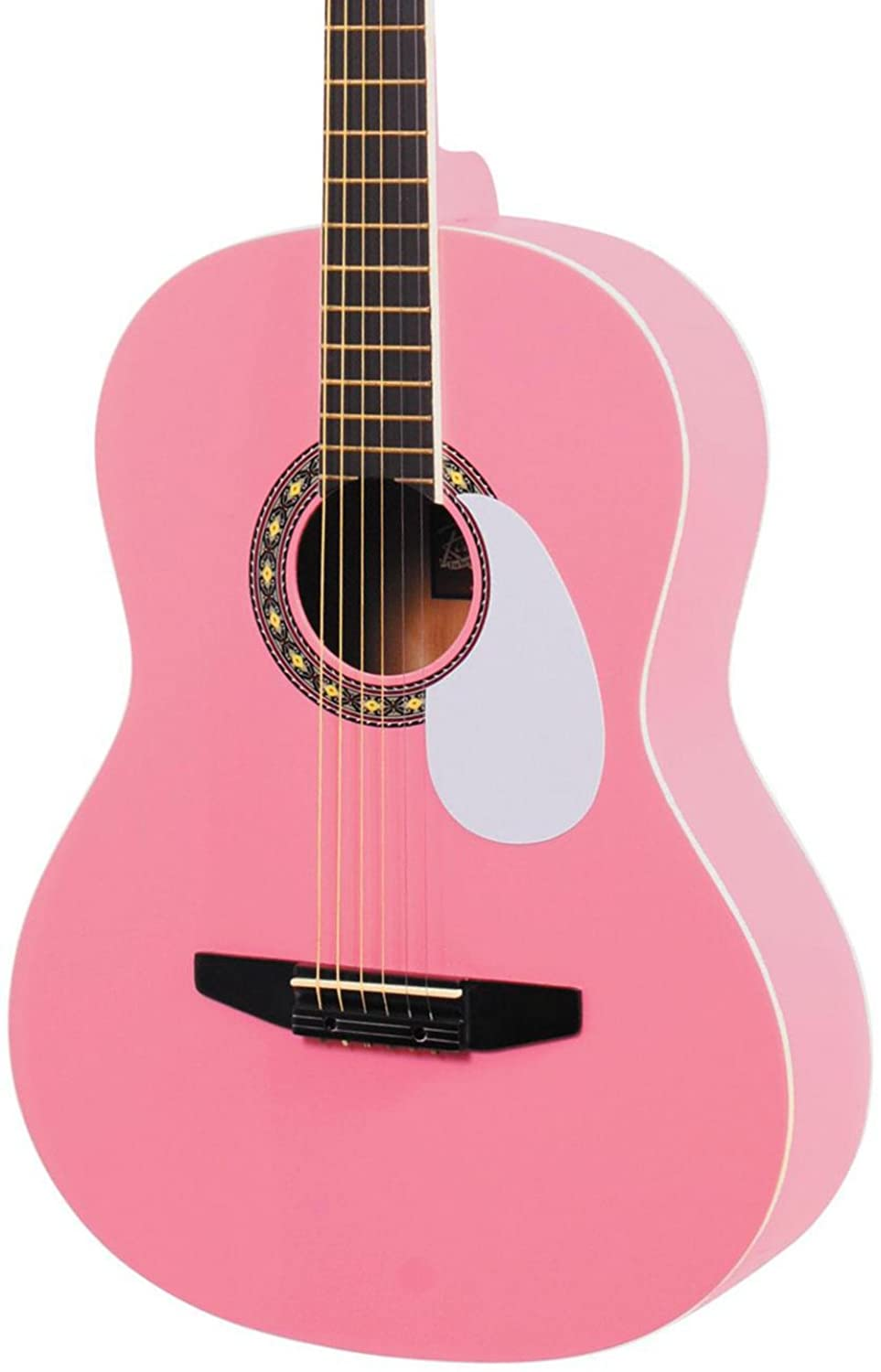 Rogue Starter Acoustic Guitar Pink Musical Instruments How To Make A Circuit Board Pick