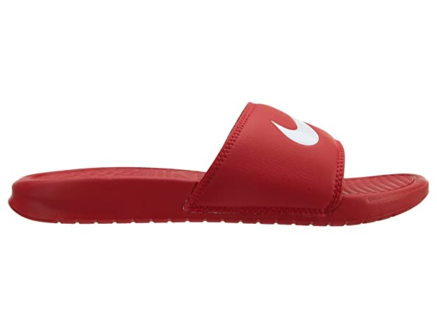 d18b74a30649 Nike Men s UniversityRed wht House Slippers-7 UK India (41 EU) (312618-610)   Buy Online at Low Prices in India - Amazon.in