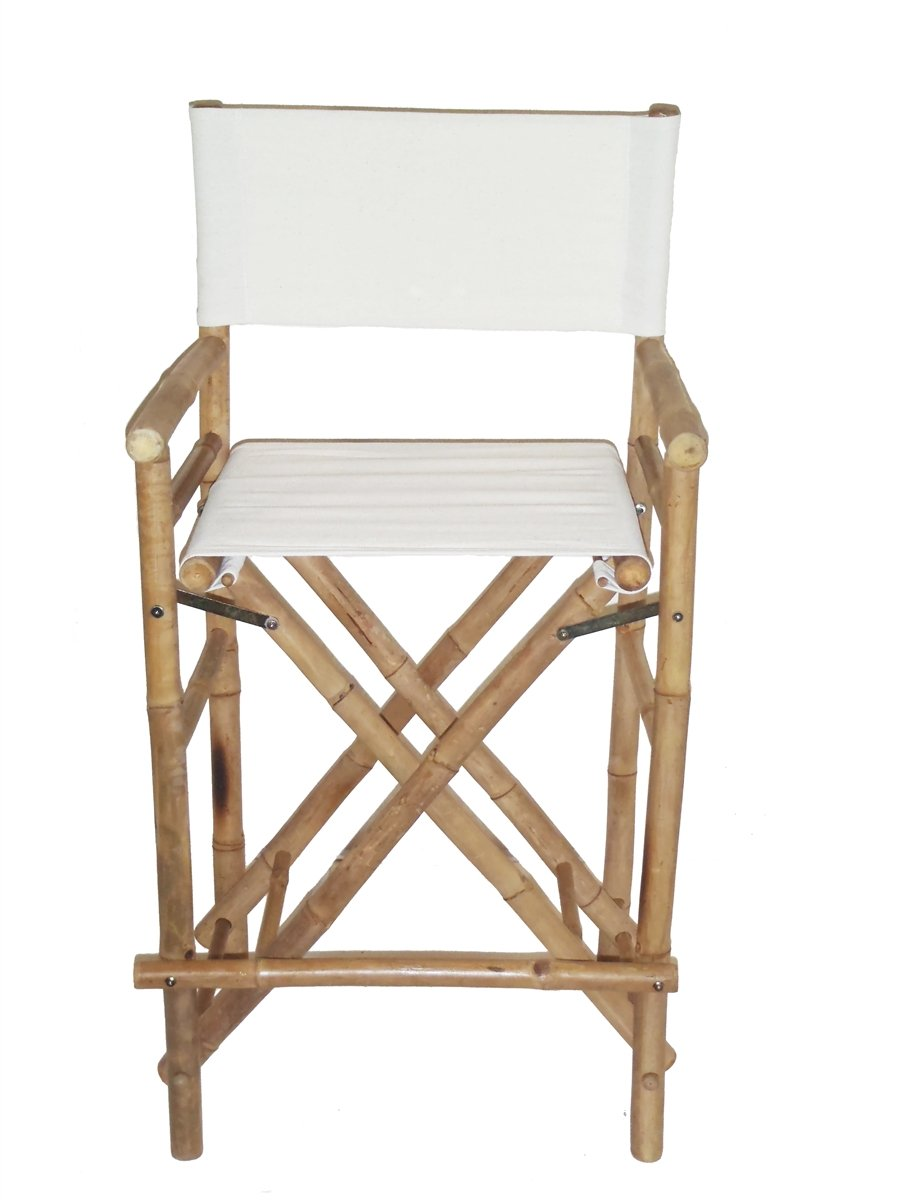 High Bamboo Director s Chair Set of 2