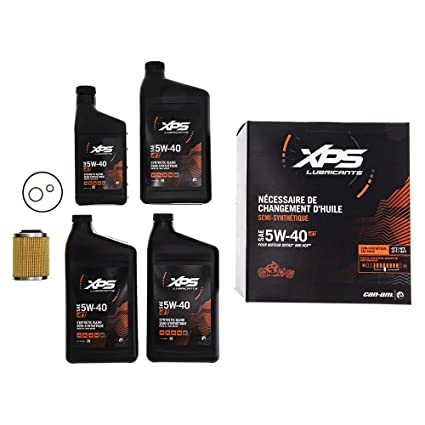 Can-Am Ryker 4T 5W-40 Synthetic Blend Oil Change Kit Rotax 900 CC engine  779299