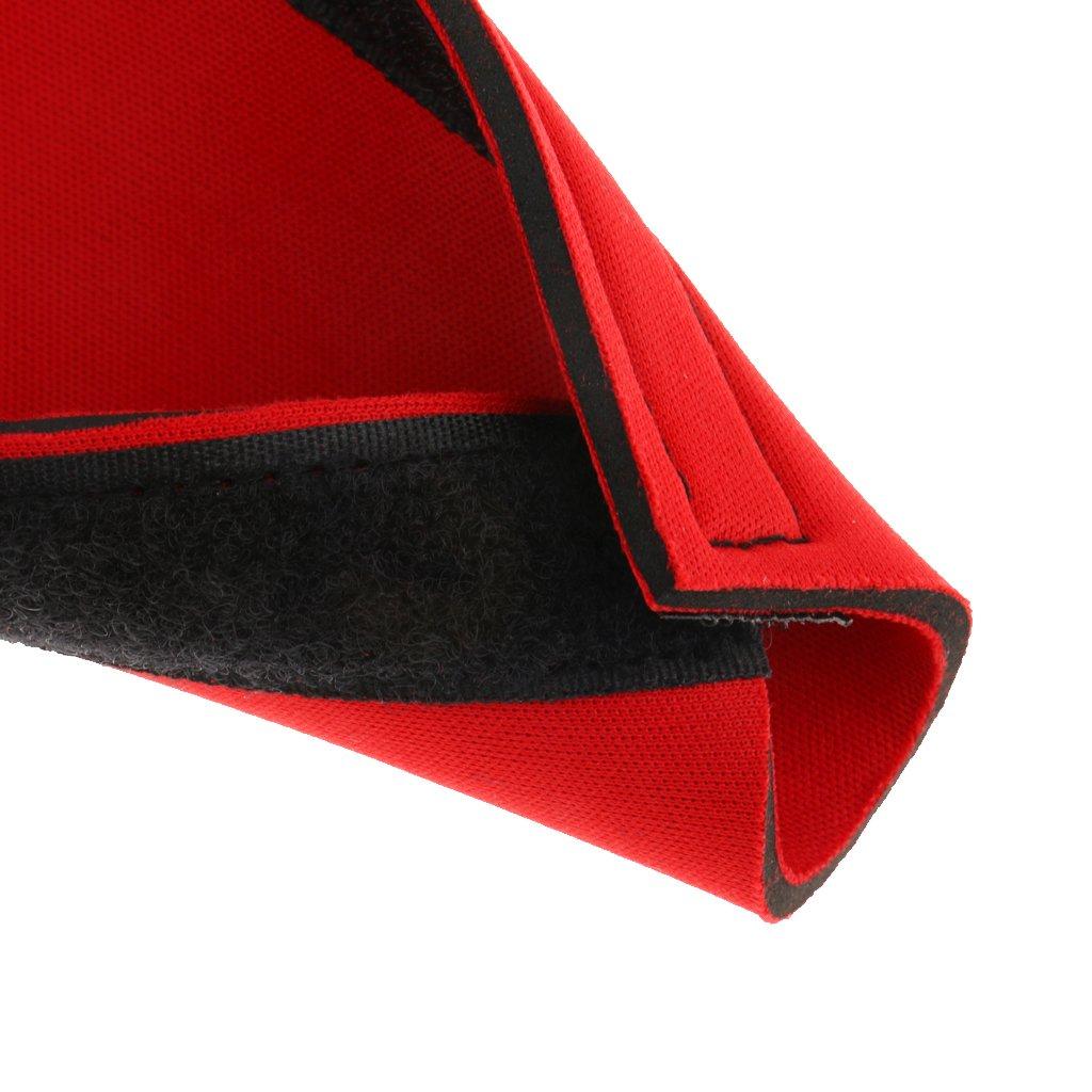 Bicicleta De Monta/ña Roja Protector De Cadena De La Bicicleta Marco De Estancia Protector Protector