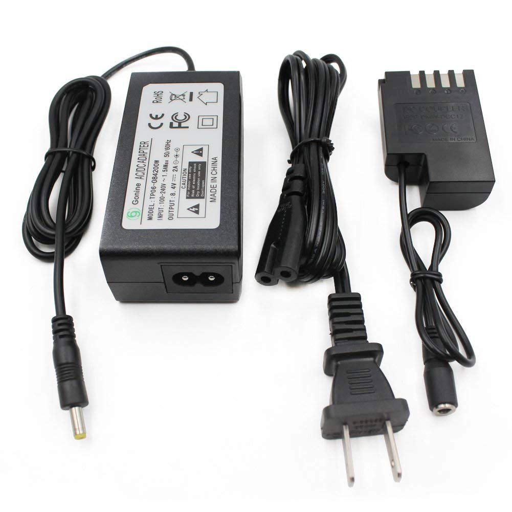 Gonine Dmw Dcc12 Dc Coupler Ac8 Ac Power Adapter Circuit Construction Kit Acdc Virtual Lab From The Options Menu Panasonic Blf 19 Battery Replacement Dmc Gh3 Gh4 Gh3k Gh4k