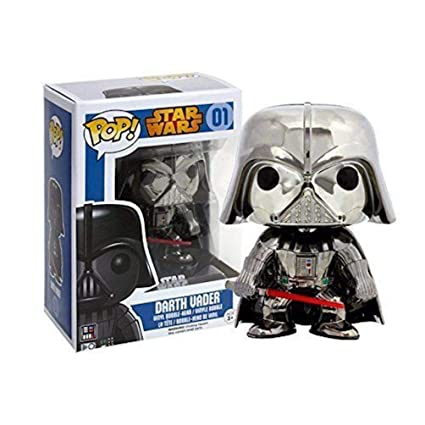 Amazon com: Japan Import ! Limit POP Star Wars Darth Vader chrome